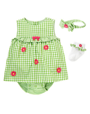 Gingham Sweetie Outfit by Gymboree