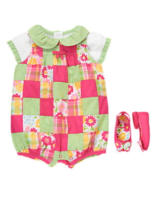 Baby's Baby Patchwork Outfit by Gymboree