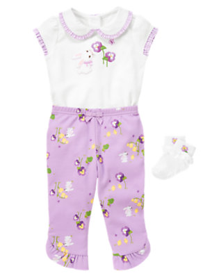 Bunny Sweet Outfit by Gymboree