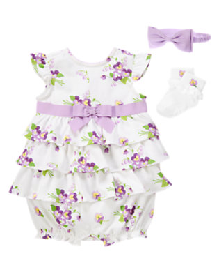 Baby's Petal Garden Outfit by Gymboree
