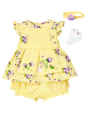 Blooms & Bunnies Outfit by Gymboree