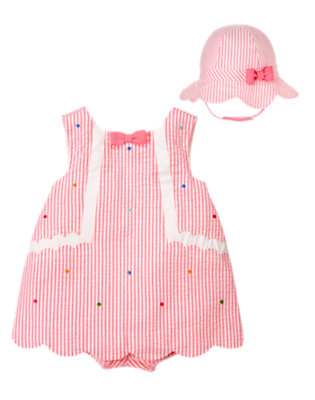 Baby's Seersucker Sweetie Outfit by Gymboree