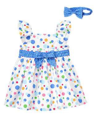 Baby's Dots Of Flair Outfit by Gymboree