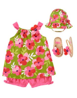 Baby's Sunshine Petals Outfit by Gymboree