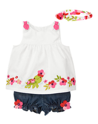 Baby's Tropical Turtle Outfit by Gymboree