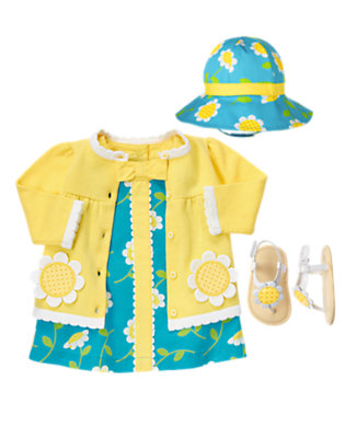 Baby's Darling Daisy Outfit by Gymboree
