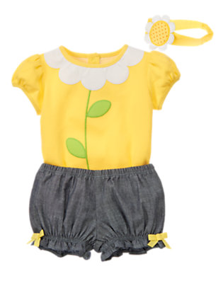 Baby's Tiny Petals Outfit by Gymboree