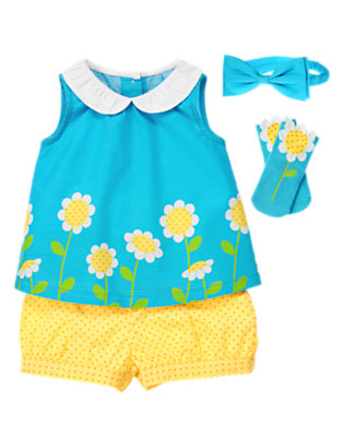 Baby's Growing Daisies Outfit by Gymboree