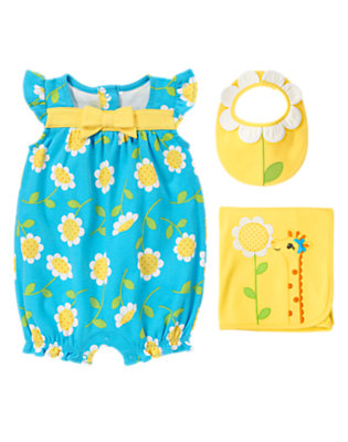 Bubbly Flower Outfit by Gymboree