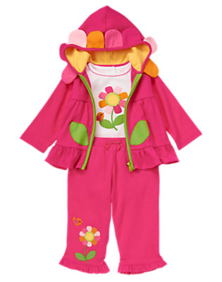 Baby's Baby Flower Outfit by Gymboree