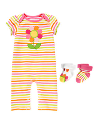 Stripes So Sweet Outfit by Gymboree
