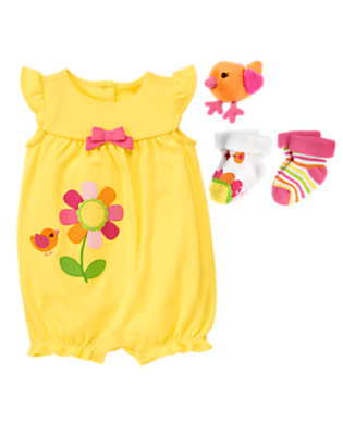 A Sunny Treat Outfit by Gymboree