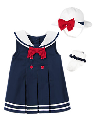 Baby's Petite Sailor Outfit by Gymboree
