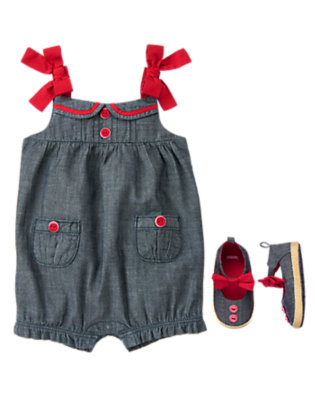Chambray Cutie Outfit by Gymboree