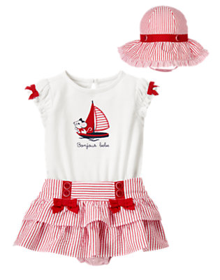 Baby's Bonjour Bebe Outfit by Gymboree