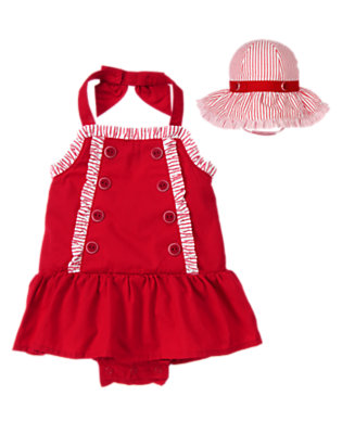 Baby's Seashore Afternoon Outfit by Gymboree