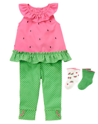 Tiny Dots Outfit by Gymboree