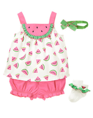 Baby's Yummy For Summer Outfit by Gymboree