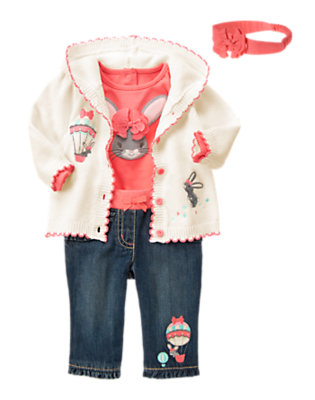 Baby's Up, Up And Away Outfit by Gymboree