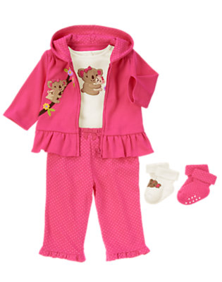 Baby's Little Girl Koala Outfit by Gymboree