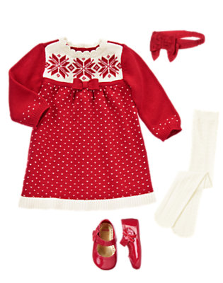 Baby's Sweet As Snow Outfit by Gymboree