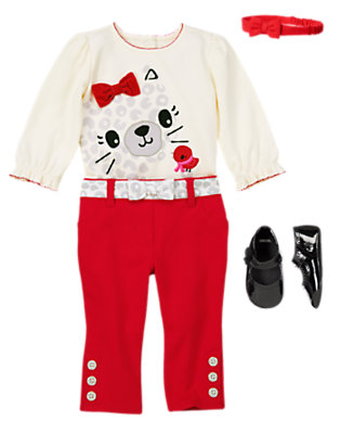 Baby's Bows From Head to Toe Outfit by Gymboree
