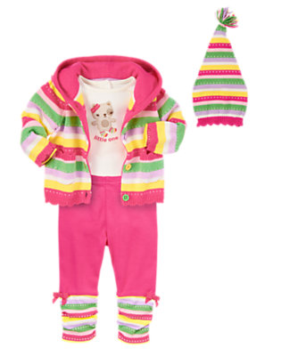 Baby's Holiday Rainbow Outfit by Gymboree