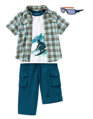 Boy's Wave Rider Outfit by Gymboree
