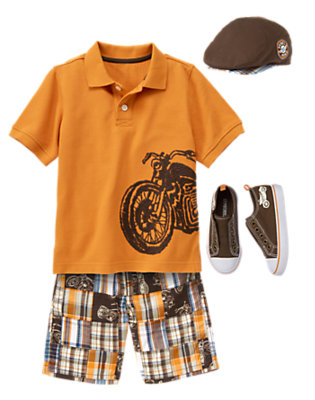 Boy's All Revved Up! Outfit by Gymboree