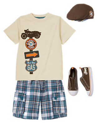 Boy's Rebel Road Outfit by Gymboree