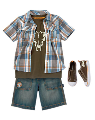 Hit The Highway Outfit by Gymboree