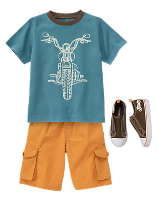 Moto Style Outfit by Gymboree