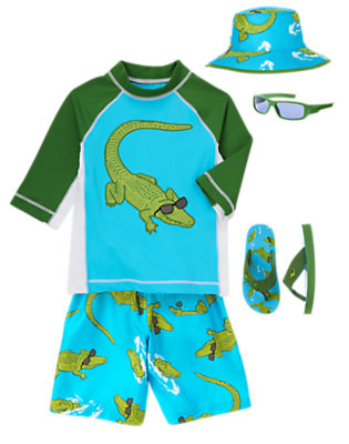 Later Alligator! Outfit by Gymboree