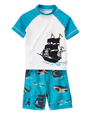 Boy's Pirate Cove Outfit by Gymboree