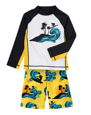 Boy's Surf Paradise Outfit by Gymboree