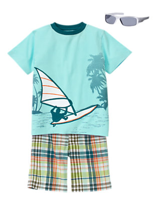 Boy's Mr. Windsurfer Outfit by Gymboree