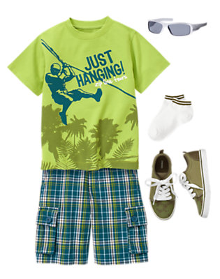 Canopy Tour Outfit by Gymboree