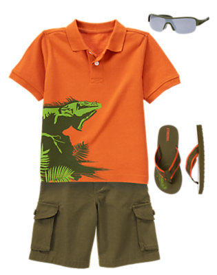 Leapin' Lizards! Outfit by Gymboree