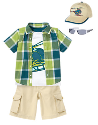 Coolest Copter Outfit by Gymboree