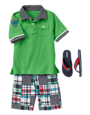 Boy's SK8 Time Outfit by Gymboree