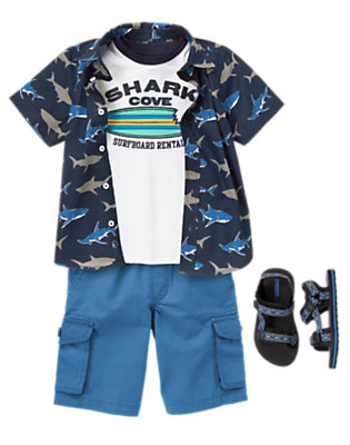 Shark Cove Outfit by Gymboree