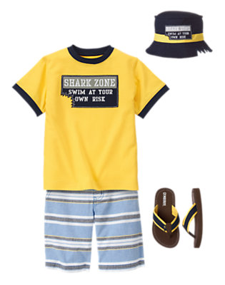 Shark Zone Outfit by Gymboree