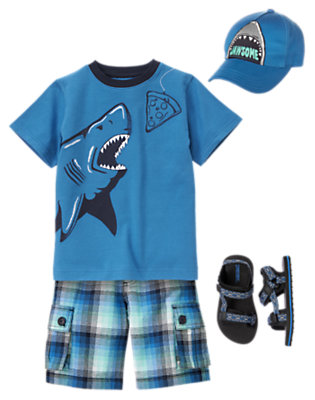 Boy's Fiercely Cool Outfit by Gymboree