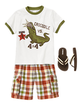 Boy's Summertime Fun Outfit by Gymboree