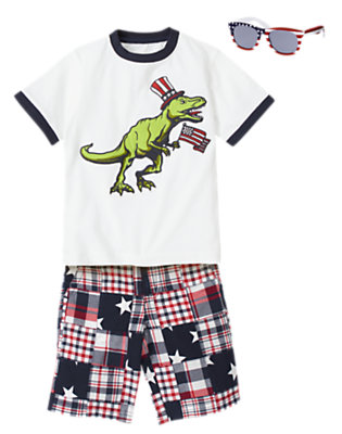 Preppy T-Rex Outfit by Gymboree