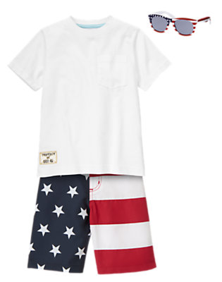 July 4th Party Outfit by Gymboree
