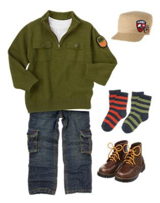Junior Park Ranger Outfit by Gymboree