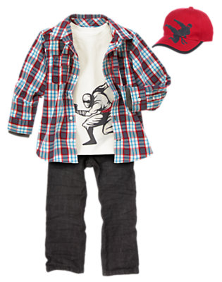 Ninja Power Outfit by Gymboree