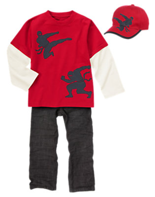 Cool Ninja Outfit by Gymboree