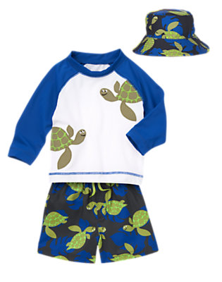 Turtle Playtime Outfit by Gymboree